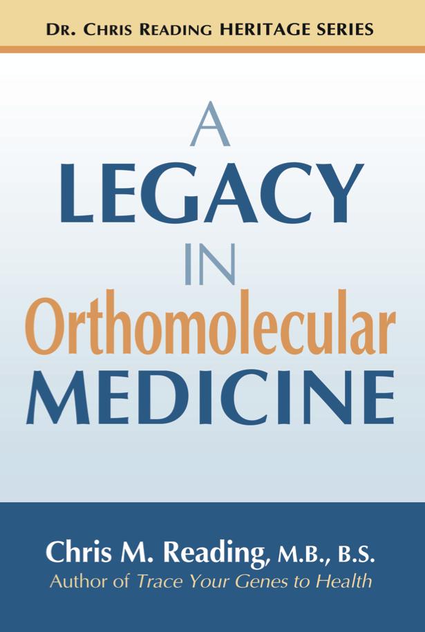 A Legacy in Orthomolecular Medicine (eBook Version)