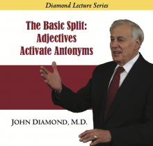 The Basic Split: Adjectives Activate Antonyms