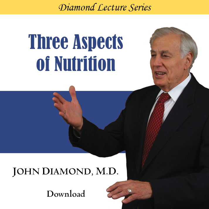 Three Aspects of Nutrition
